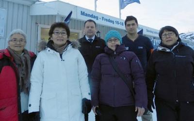 Kalaallit Røde Korsiat støtter ofrene fra branden på Atersuit i Ilulissat