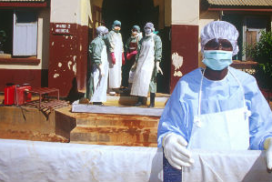 Ikiueqaarnera Ebola Afrikap kitaani unitsilli